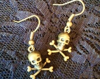 Brass Skulls