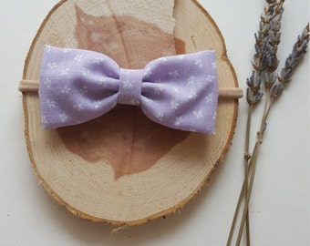 Lavender Fields Bow Headband