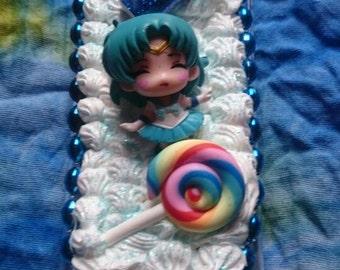 Sailor Mercury Decoden kawaii cute IPhone 5c case