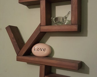 Wall Mounted Love Shelf