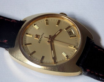First ZENITH , NOS-never used ,gilded,serviced