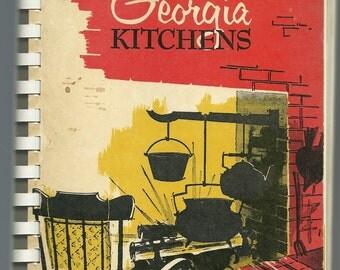 Athens, Georgia Cookbook - Gems From Georgia Kitchens - Garden Club of Georgia - 1963