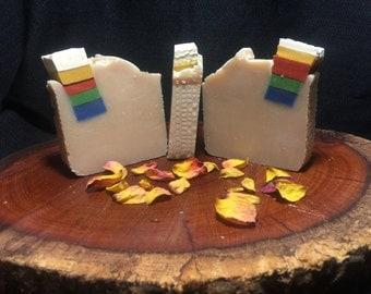 Rainbow Drop Goat's Milk Soap