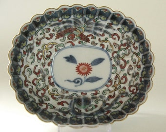 19th c. porcelain dish