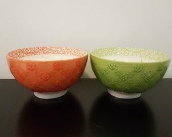 Large Morocco Bowls - 3 Wicks