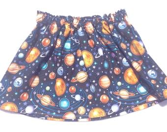 Solar System Planet Skirt