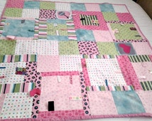 BABY TAB QUILT- Girl