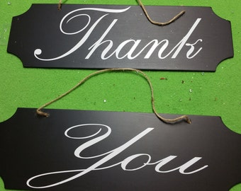 Thank You Custom Wedding Signs