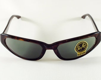 Vintage Ray-Ban W1925 Moonstone Tortoise Shell Sunglasses (NEW OLD STOCK)
