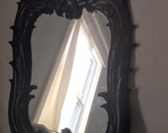 Vintage Ornate Syroco Mirror