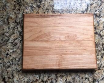 Oak & maple cheese cutting board