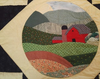 Amish Country Side Quilt