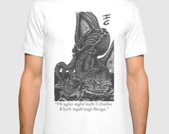 Cthulhu Art T-shirt