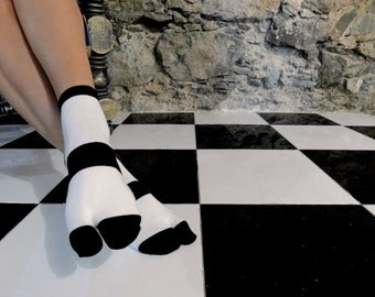 Black and White Thick Stripe