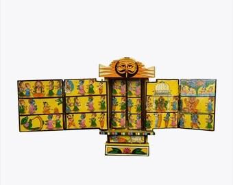 wooden Story Box - Kavad Art