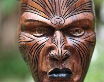 Custom wood mask