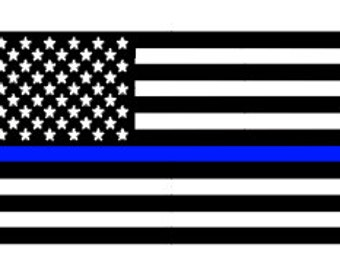 Thin Blue Line Flag *Proceeds will be donated to Dallas Victims