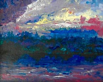 Sky on Fire {FINE ART} Kate Wilwert