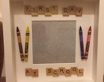 First Day at School Frame, Memory Frame, Keepsake