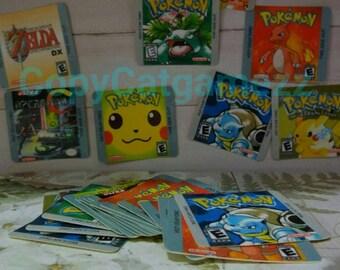 10pcs Gameboy Labels