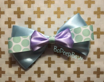 Sully Inspired Pixar Bow