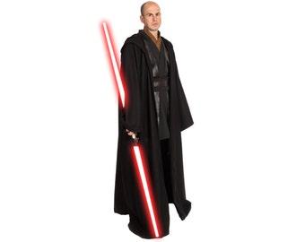 Star Wars Costume, Star Wars Tunic Pants & Robe, BECOME your own JEDI, Custom Star Wars Sith Lord Costume, Adult Anakin Star Wars Cosplay