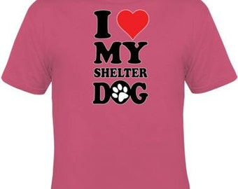Dog T-shirt, Dog Themed, Dog Gift, Rescue Dog, Rescue T-shirt, Dog lover