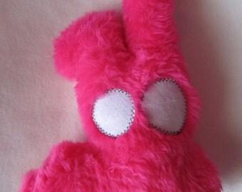 Plush pink sands on long hair