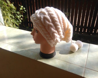 Hand knitted hat - Theodore