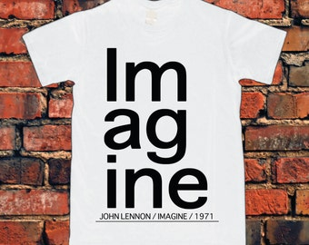 John Lennon Inspired Imagine T-Shirt
