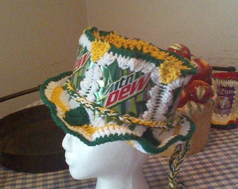 Mountain Dew Party Hat