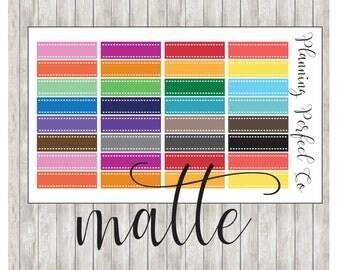 Label Stickers Multicolor ~ Matte