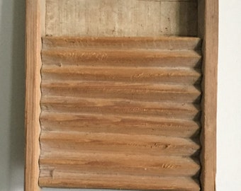 Childs Rustic Washboard