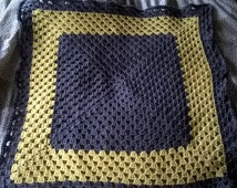 Grey & Yellow Baby Blanket