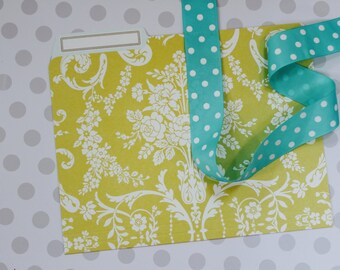 Anna Griffin Amelie Damask Collection - 12 File Folders