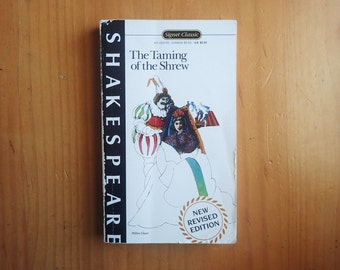 The Taming of the Shrew by William Shakespeare Book 1987 Signet Classic Revised Edition