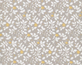Gold Fitted Crib Sheet-Floral Baby Bedding-Brown Crib Sheet-Rustic Crib Sheet-Rustic Nursery