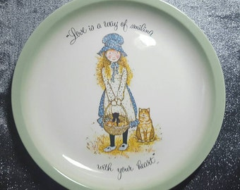 Holly Hobby collectors plate