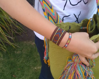 Bangle of beads of glass Cholula