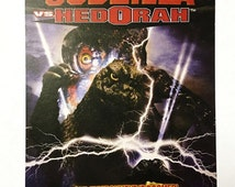 Godzilla vs Hedorah Movie Advertisement