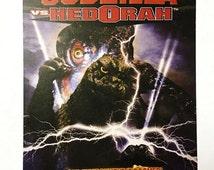 Godzilla vs Hedorah Movie Advertisement