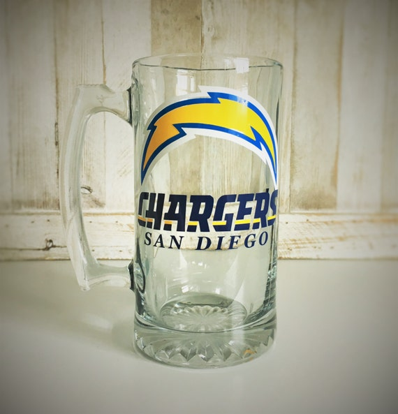 San Diego Chargers Gifts: Custom Beer Mugs Beer Mugs Chargers Gifts NFL By