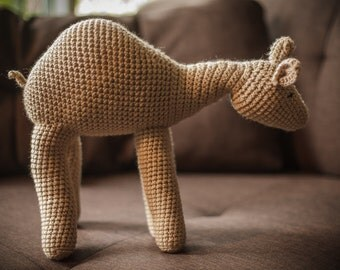 Camelo, the camel amigurumi