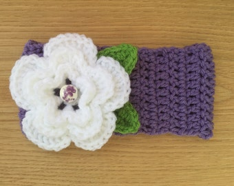 Toddler Headband with Flower Detail