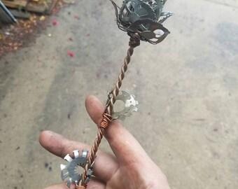 Steampunk Gears rose