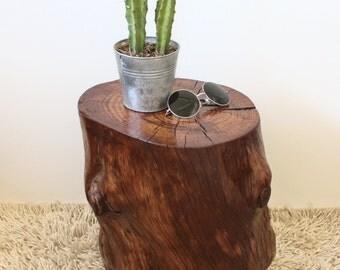Handmade Stump table furniture