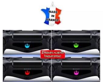 Stickers ps4 controller controller light bar