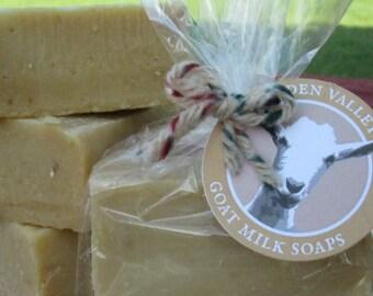All Natural Honey Oatmeal Goat Milk Soap 4 oz.