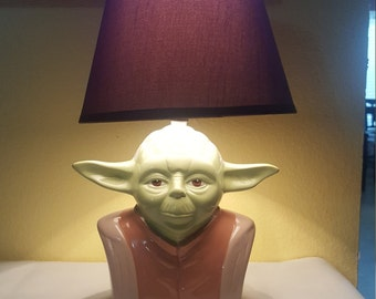Star Wars Yoda Lamp/piggy bank!!