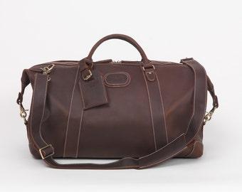 Bestselling Val Blanco Weekend Bag - ultra soft leather weekend bag - 35% off